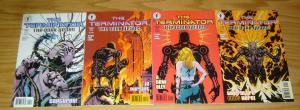 Terminator: the Dark Years #1-4 VF/NM complete series ALAN GRANT & JAE LEE 2 3