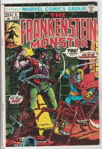 Frankenstein, the Monster of #6 (Oct-73) FN/VF Mid-High-Grade Frankenstein