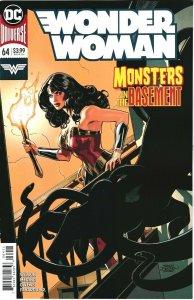 WONDER WOMAN #64 - DC COMICS - APRIL 2019