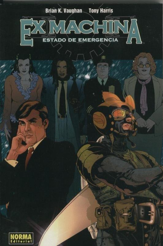Ex Machina volumen 01: Estado de emergencia