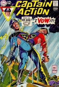Captain Action (1968 series) #3, Fine- (Stock photo)