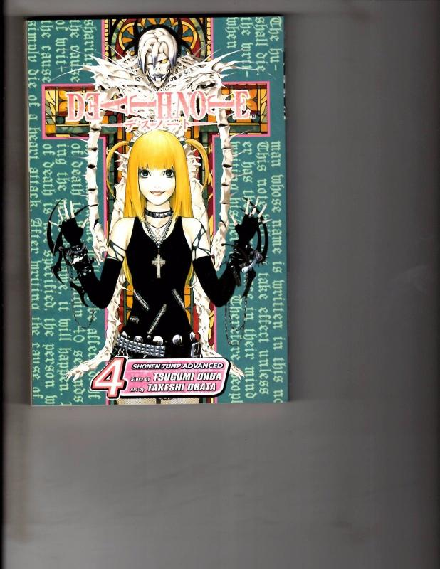 Death Note Vol. # 4 Shonen Jump Advanced Viz Media Manga Comic Book Anime AB1