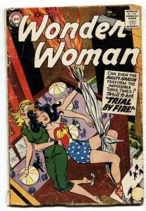 Wonder Woman #104-1959- Trial by Fire- DC Comics G+