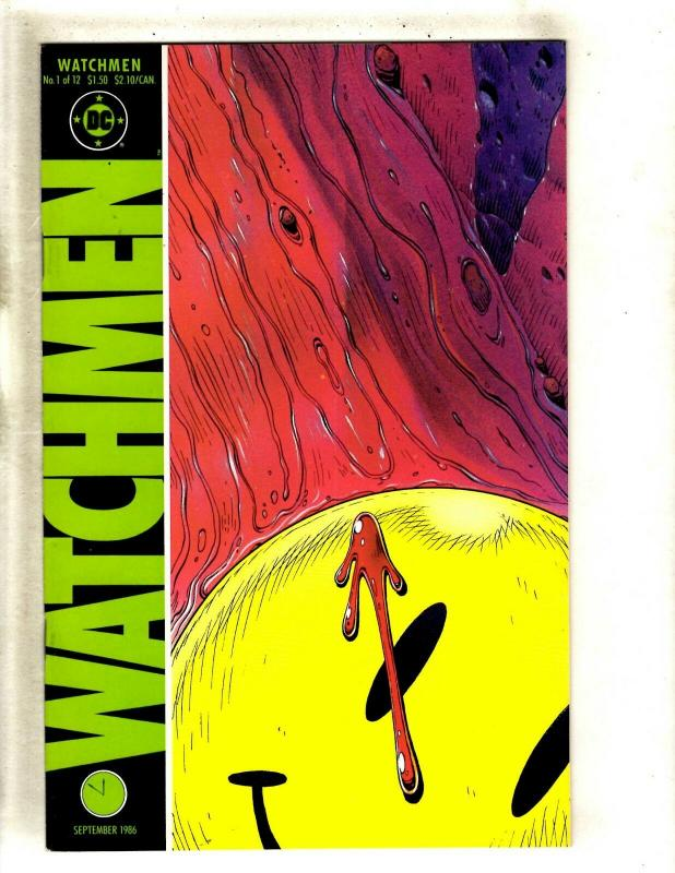 Watchmen Complete DC Comics LTD Series # 1 2 3 4 5 6 7 8 9 10 11 12 Moore FM8