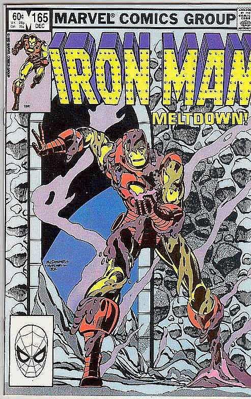 Iron Man #165 (Nov-83) NM+ Super-High-Grade Iron Man