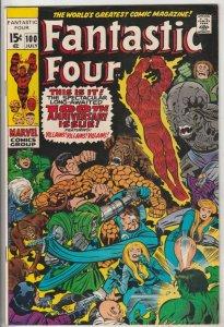 Fantastic Four #100 (Jul-70) VF/NM High-Grade Fantastic Four, Mr. Fantastic (...
