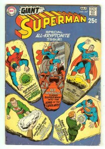 Superman 227   Giant G-72