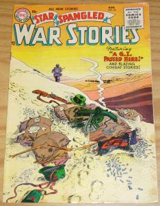 Star Spangled War Stories #36 FN- august 1955 - golden age dc comics - desert