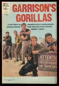 GARISON'S GORILLA #5 1969-DELL COMICS-TV PHOTO COVER FN