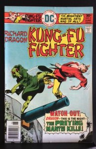 Richard Dragon, Kung Fu Fighter #9 (1976)