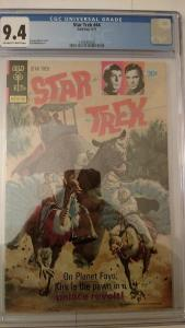 Star Trek #44 (May 77, Gold Key) CGC 9.4