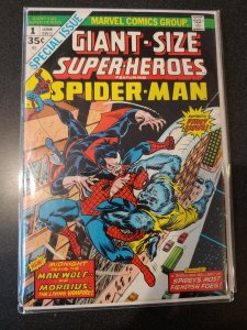 Giant-Size Super-Heroes 1 Spider-Man early appearance of Morbius