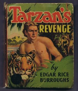 Tarzan's Revenge ORIGINAL Vintage 1938 Whitman Big Little Book 1488