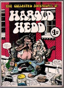 Harrold Hedd #1 1972-GVN-1st edition-Rand Holmes art-limited print run-FN