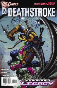 Deathstroke #3 (VF/NM) 2011 DC Comics ID#000