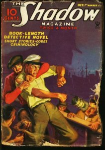 SHADOW 1935 OCT 1-STREET AND SMITH PULP-RARE FR