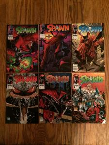 High Grade Spawn #1-6 Comics