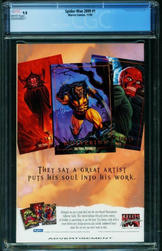 SPIDER-MAN 2099 #1 1st issue CGC 9.8 2020540011