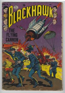 Blackhawk #75, April 1954