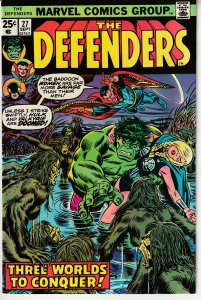 Defenders(vol. 1) # 27 Guardians of The Galaxy ! Starhawk cameo