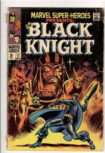 MARVEL SUPER HEROES 17 VG- 3.5 ORIGIN BLACK KNIGHT! SUPER DISCOUNT