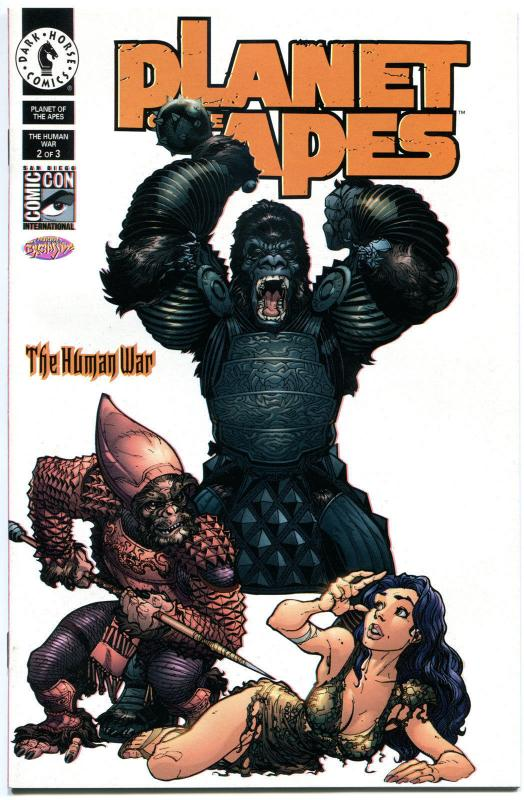 PLANET of the APES #2, NM, Human War, SDCC Variant, Scott Campbell,more in store