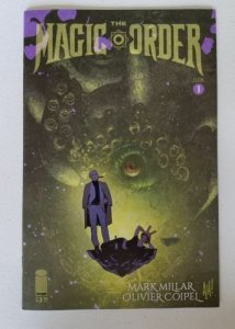 THE MAGIC ORDER #1 ADAM HUGHES VARIANT NM SOLD OUT NETFLIX SERIES
