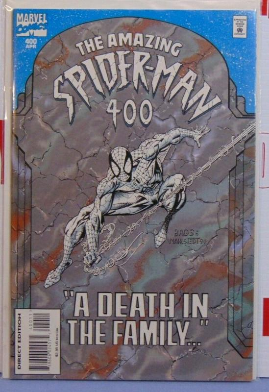 Amazing Spider-Man Issue #400 Newsstand Variant Death Aunt May NM RARE 1st Print