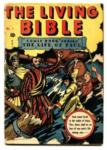 Living Bible #1  Great L.B. Cole cover-Life of Paul-1945 G