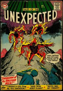 TALES OF THE UNEXPECTED #22 1958 JACK KIRBY JOE MANEELY VG