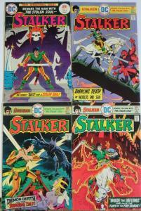 STALKER (1975) 1-4  VG-F Ditko/ Wood  COMPLETE Series!