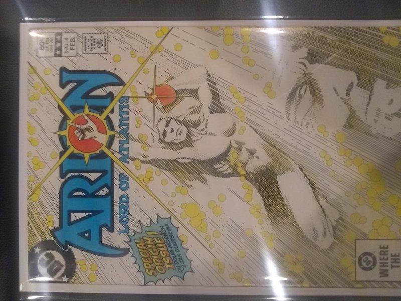 Arion, Lord of Atlantis #4 (1983)