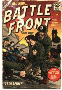BATTLEFRONT #47-1957--CIVIL WAR--WWI & WWII STORIES--JOE ORLANDO-GENE COLAN ART