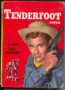 Tenderfoot Annual 1962-hard back comic book stories-TV series-U.K.-Sugarfoot-G