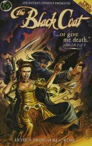 Black Coat, The: Or Give Me Death CS #1 VF; Ape | save on shipping - details ins