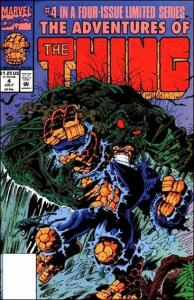 Marvel ADVENTURES OF THE THING #4 VF