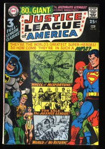 Justice League Of America #58 FN/VF 7.0