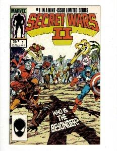 12 Comics Secret Wars II 1 2 3 4 5 6 7 8 9 Shadowmasters 1 1 Spider-Man 1 SB1