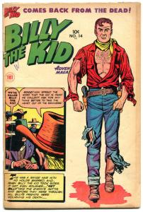 BILLY the KID #14, VG+, Frank Frazetta, Al Williamson, Western, 1950, Toby