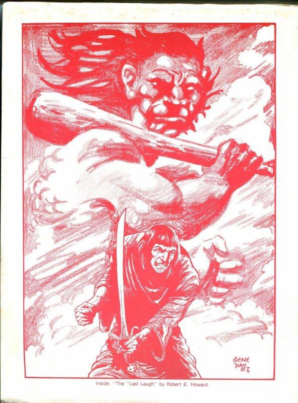 Fantasy Crossroads #9 1976-Richard CorbenGene Day-Robert E Howard-VG