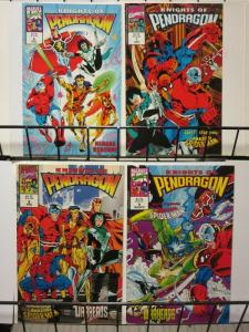 KNIGHTS OF PENDRAGON (1992 MARVEL UK) 6-9 CRAWL-SPACE