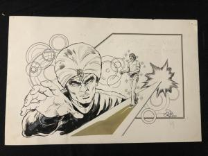 Dan Reed Original Comic Art- Mystic 17x11