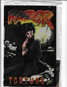 Razor: Torture #0 (1995)  STILL IN BAG  NM