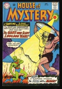 House Of Mystery #153 FN+ 6.5 Martian Manhunter! DC Comics