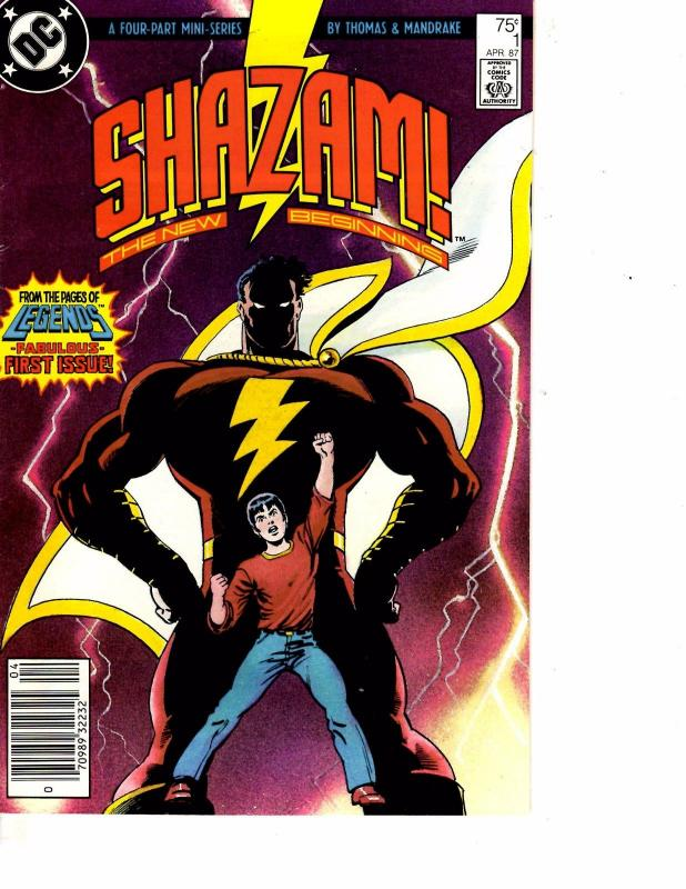 Lot Of 2 DC Comic Books Shazam #1 and Suicide Squad Phoenix Gambit #40   ON6
