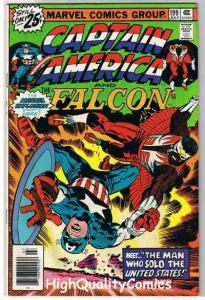 CAPTAIN AMERICA #199, FN+, Jack Kirby, Falcon, 1968, more CA in store