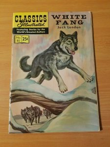 Classics Illustrated #80 - White Fang ~ VERY FINE VF ~ (Aug 1969) HRN 169