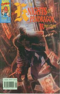 Knights of Pendragon #7, NM + (Stock photo)