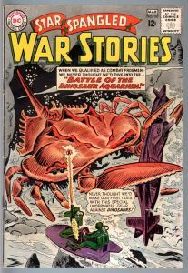 STAR SPANGLED WAR STORIES #107-1963-DC WAR COMIC-SILVER AGE-FN minus FN-