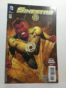 Sinestro 20 Neal Adams Variant Nm Near Mint DC Comics New 52